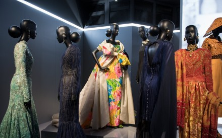 The Musee des Arts Decoratifs presents an exhibition of the work of French designer Christian Dior during the Paris Fashion Week. Photo: EPA
