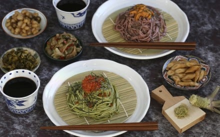 Easy to make and versatile, cold noodles are a great sharing dish for hot days