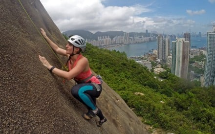 Hong Kong's many granite and volcanic outcrops make it a great place to indulge in a sport that provides an intense workout for both body and mind