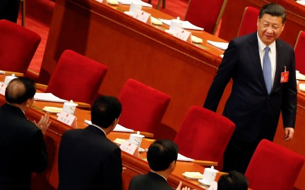 President Xi Jinping's power will be put to the test at the much anticipated 19th party congress. Photo: Reuters