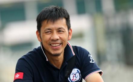 Frankie Lor Fu-chuen at trackwork on Friday. Photos: Kenneth Chan
