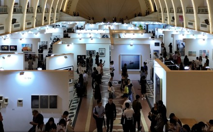 Photofairs Shanghai, Asia's largest photography art fair, is held at the Shanghai Exhibition Centre. Photo: Simon Song