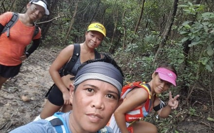 From left: Beverly Martinez, 35, Aleli Pena, 38, Marian America, 43, and Bernadette Durian, 37, will attempt Oxfam Trailwalker. Photo: Handout