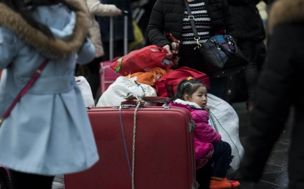 Thanks to the surge of newborns, brought about by China's second-child policy, home-sharing sites such as Airbnb are becoming increasingly popular. Photo: AFP