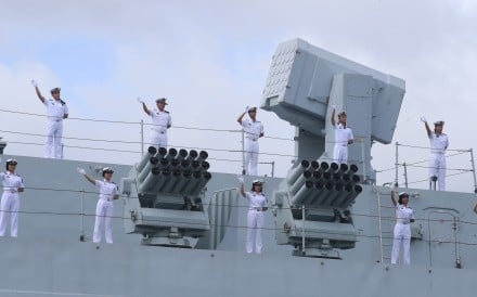 Visit to London by Chinese ships highlights growing naval ambitions – but such shows of power can also undermine Beijing's efforts to convince the world it seeks a peaceful rise
