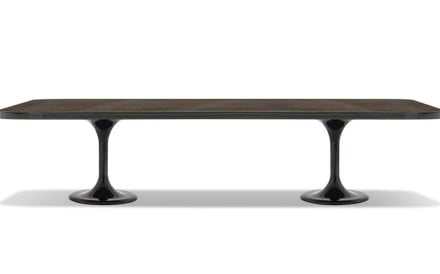 These rectangular dining tables are ideal for large spaces