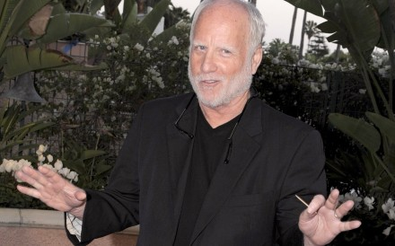 US actor Richard Dreyfuss has denied allegations of harassment from an LA writer. Photo: EPA