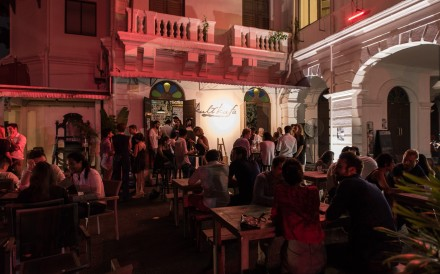 Kult Kafe is a Singapore neighbourhood bar with a gallery space.
