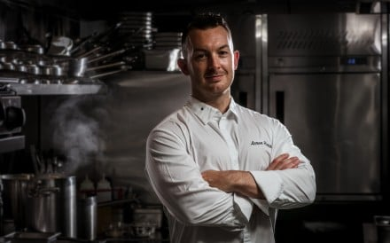 Arron Rhodes, head chef at Gough's on Gough.