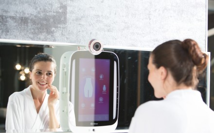 More than one company has been developing smart mirrors.