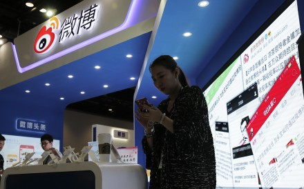 The internet watchdog said Weibo had failed in its duty to censor content. Photo: AP