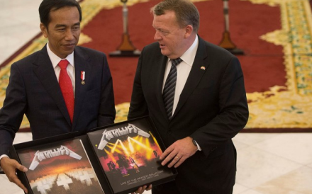 Indonesian president had declared the double album as 'state inventory'