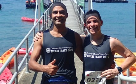 Mayank Vaid and David Gething will be taking part in the Arch 2 Arc extreme triathlon in June.