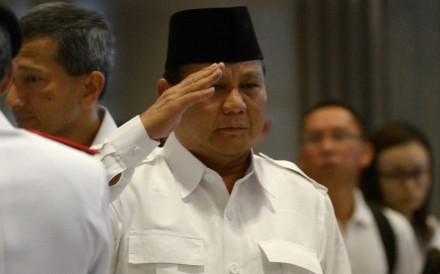 Prabowo Subianto will challenge Indonesia's incumbent President Joko Widodo next year. Photo: AFP