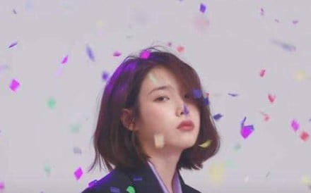 South Korean singer IU, whose song has made the 'The New York Times' list of '25 Songs That Tell Us Where Music Is Going'.
