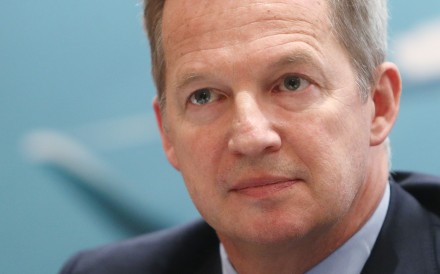 Rupert Hogg is among the lowest-paid airline chief executives. Photo: Winson Wong