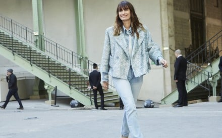 Caroline de Maigret attends Chanel's autumn/winter show.