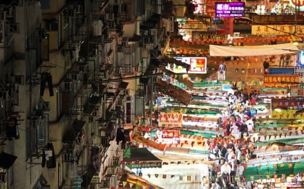 A neighbourhood seething with energy by day and night, Yau Ma Tei has resisted gentrification and remains after dark the haunt of hawkers, street performers and prostitutes, as it has been for decades