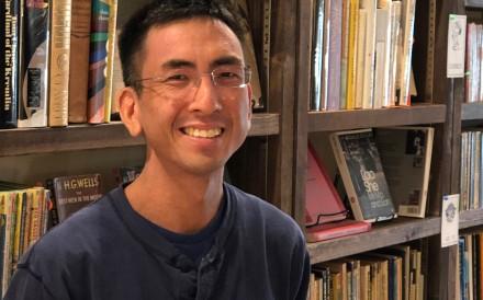 Albert Wan, owner of Bleak House Books.