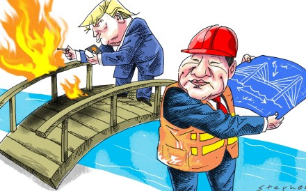 Though vastly different in temperament and approach to international affairs, Donald Trump and Xi Jinping, leaders of the world's two most powerful nations, are similar in one aspect: their need for power. Illustration: Craig Stephens