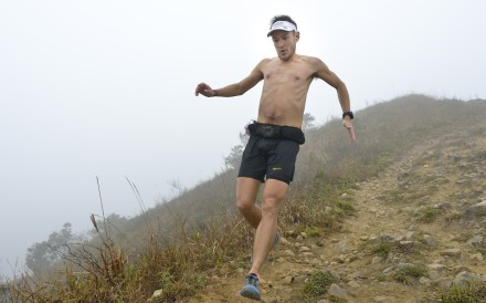 John Ellis during the Vibram HK100 2017 Ma On Shan Country Park. Photo: Daniel Cheng