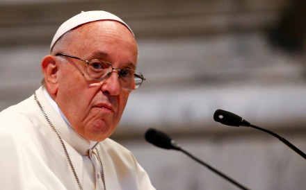 Pope Francis has accepted the resignation of three Chilean bishops following sex abuse scandals and is said to be considering further actions. Photo: Reuters