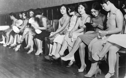 Prostitutes in Shanghai in 1931.