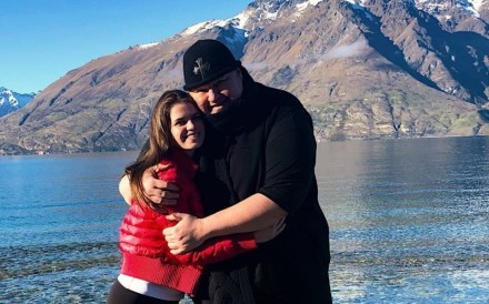 Kim Dotcom and wife Elizabeth in New Zealand, The Megaupload founder has lost his latest bid to avoid extradition to the US to face criminal charges. Photo: Twitter/Kim Dotcom