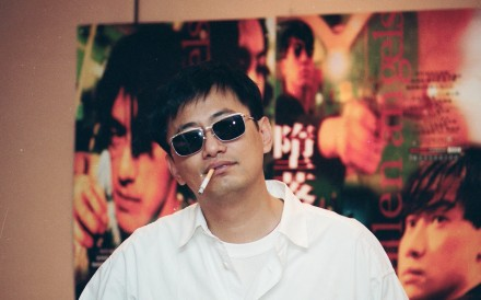 Hong Kong filmmaker Wong Kar-wai in 1995 during promotion of his crime drama 'Fallen Angels'. Photo: SCMP