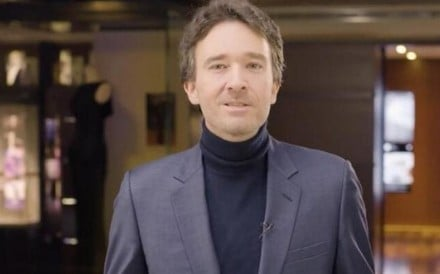 Antoine Arnault, head of ‪global communications‬at LVMH, which opens its doors to the public – particularly those from China – so they can step inside its design houses and interact with artisans during October's Les Journées Particulières event.