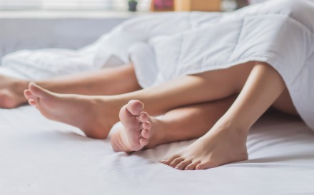 About 54 per cent of 4,000 people who bought products on online marketplace Yanxuan reported having sex at least once a week. Photo: Shutterstock