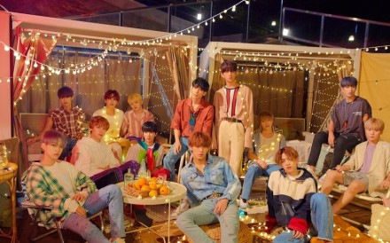 Members of South Korean boy band Seventeen. The band is vying to be the king of K-pop. It was ranked No.7 on the Heatseekers Albums chart, a feat that few K-pop singers have achieved.