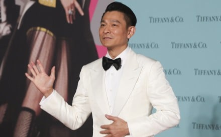 Canto-pop star Andy Lau on the red carpet of the Hong Kong Film Awards in Tsim Sha Tsui. Photo: Edward Wong