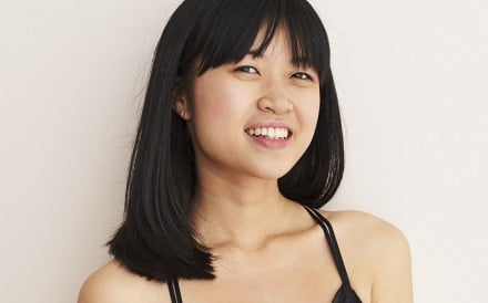 Model shows off a bralette from American Eagle Outfitters. Photo: HANDOUT