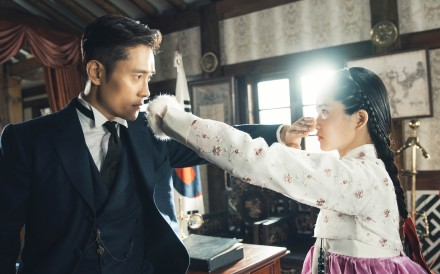 Lee Byung-hun and Kim Tae-ri in Mr. Sunshine. Picture: Netflix