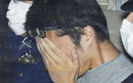 Takahiro Shiraishi was charged with nine counts of murder on Monday. Photo: Kyodo