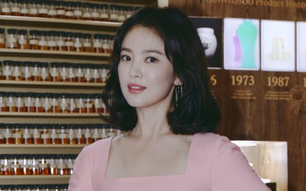 Song Hye-kyo was in Hong Kong recently to officiate the grand opening of Sulwhasoo's exhibition, 'Sulwhasoo Ginseng Journey'.