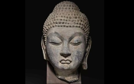 A Buddha head from the Tang dynasty may have originated from a world heritage monument site