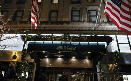 The Hotel Carlyle in New York. File photo: AFP
