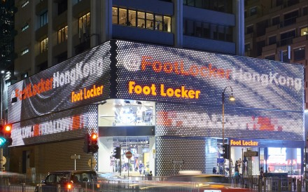 Housed inside the Yue Hwa International Building in TST, the 27,000 square foot store is among the four stores that Foot Locker is opening in Asia in 2018, including two in Singapore and one in Malaysia. Photo: HANDOUT