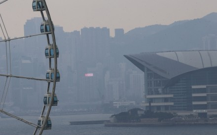 Hazy days in Hong Kong have affected the city's standing on a sustainable city index. Photo: Dickson Lee