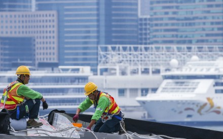The shortage of blue-collar workers in certain professions in Hong Kong has led to increased wages, but young people are not drawn to manual jobs. Photo: David Wong