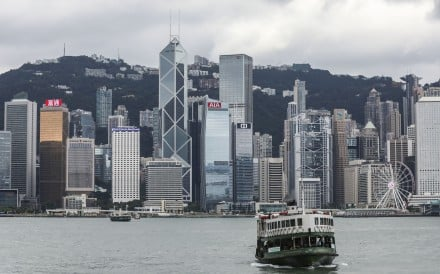 The Star Ferry plying the waters of Victoria Harbour in Hong Kong. Photo: Dickson Lee