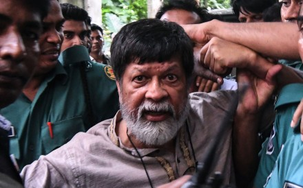 Shahidul Alam has been held by Bangladeshi authorities for more than 100 days. Photo: AFP