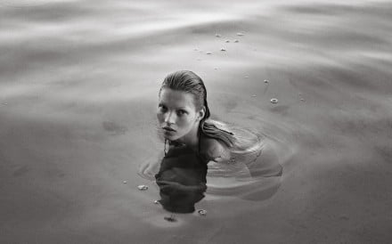 A photo of model Kate Moss from the book Kate by Mario Sorrenti and Dennis Freedman. Photo: Mario Sorrenti