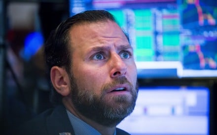 A trader on the floor of the New York Stock Exchange on November 2. Global bond and equity markets have this year suffered their sharpest combined loss since the 2008 financial crisis. Photo: Bloomberg