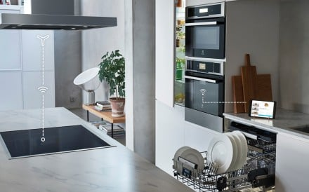 Electrolux's Taste app and Combisteam Pro oven include a camera in its digital platform for end-to-end assistance, with the app responding to previous recipes and recognised in-home appliance.
