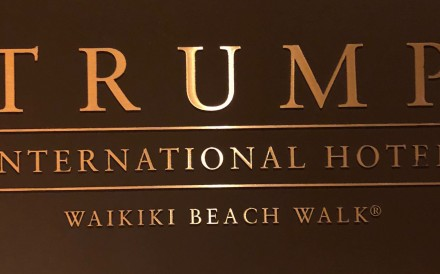 The Trump International Hotel Waikiki in Honolulu is part of the The Trump Organisation.