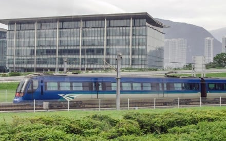 The total journey time on the Airport Express from Hong Kong station to AsiaWorld-Expo station could be extended by five to 10 minutes, the MTR Corp said. Photo: Handout