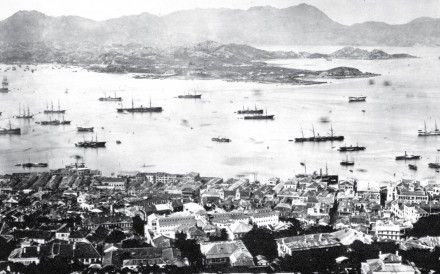 Victoria Harbour in the early 1870s. Photo: Hong Kong Museum of History
